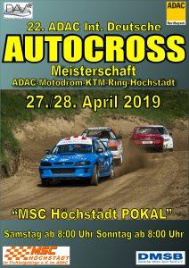 Deutsche Meisterschaft im Autocross und MSC Höchstädt Pokal @ KTM-Ring Höchstädt