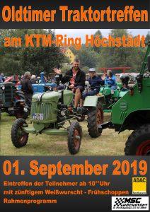 Oldtimer Traktor Treffen @ KTM Ring Höchstädt